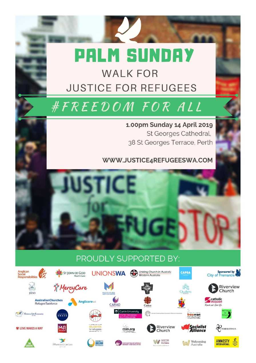 Palm Sunday 2019 Poster with endorsing logos FINAL v2.0
